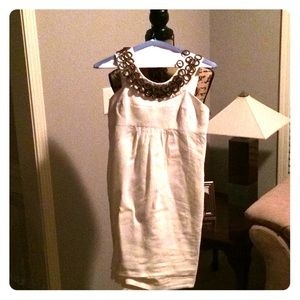 Milly of New York size 0 xs cotton linen dress